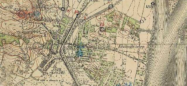 budapest térkép békásmegyer Csillaghegy | Csillaghegyi Polgári Kör | Régi térképek Csillaghegy  budapest térkép békásmegyer